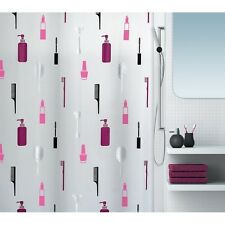 Make Up Black-Berry Eco Duschvorhang 180 x 200 cm. 100% PEVA Swiss Design