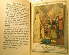Sleeping Beauty Illustrated Edmond Dulac & other Fairy Tales-Quiller-Couch 1915