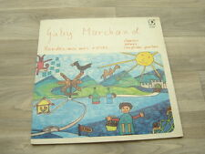 folk LP psych childrens GABY MARCHAND ‎Rendez Moi Mes Roses 1976 SWISS ch