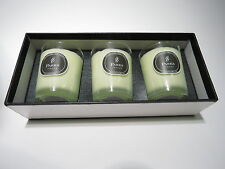 Parks London Aromatherapy Candles 3 x 80 gr Grapefruit & Jasmine Kerzen NEU