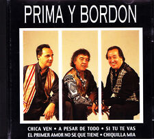 PRIMA Y BORDON-MISMO TITULO 1998 CD ALBUM EXCELLENT CONDITION