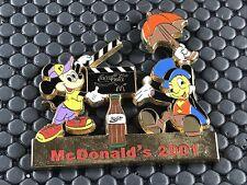 pins pin CINEMA  DISNEY MICKEY JIMINY COCA COLA MC DONALD'S