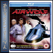 AIRWOLF - COMPLETE SEASON 2   ***BRAND NEW BLU-RAY **