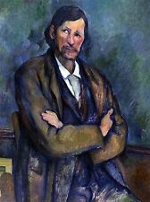 PAUL CEZANNE SELF PORTRAIT OLD MASTER ART PAINTING PRINT POSTER 2106OMA