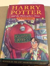 Harry Potter and the Philosopher's Stone 1998 1st/2nd Ted Smart HC UK Rowling
