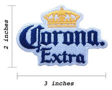 Corona Extra Beer Embroidered Iron On Patch.
