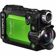 Olympus Stylus Tough TG-Tracker Ultra HD Action Camera, Green