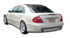 03-09 E Class W211 4DR Duraflex LR-S F-1 Rear Bumper 1pc Body Kit 103743