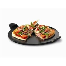 New Baccarat Gourmet 46cm Pizza Stone With Handles - Black