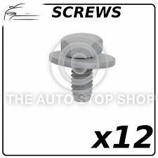 Screws Wings & Bumpers 6x12MM VW Polo/Passat/Sharan/Seat Alhambra 12257 12 Pack