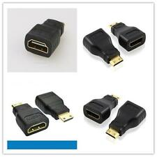 Mini HDMI (Type C)Male to HDMI ( A)Female Adapter Cable Connector for HDTV H1