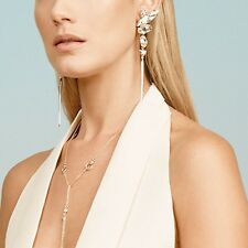 Alexis Bittar Extra Long Cluster Spike Clip On Earrings