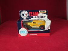 1993 MATCHBOX TEAM COLLECTIBLE MLB OAKLAND A'S TRUCK 1:64 SCALE