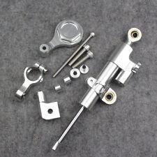 Steering Damper Stabilizer Bracket For Yamaha YZF-R6 06 07-15 R1 09-12 Silver