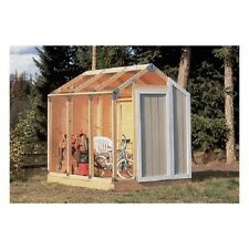 Shed Building Kit Garage Storage DIY Framing Garden Lawn Utility Yard Outdoor