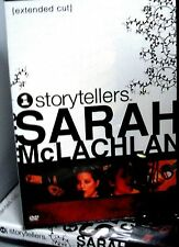 Sarah McLachlan - VH1 Storytellers Music DVD, NEW! Angel, Concert ,Folk