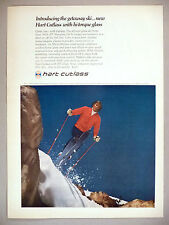 Hart Cutlass Skis PRINT AD - 1970 ~ Tom Leroy