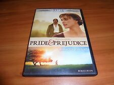 Pride and Prejudice (DVD, 2006 Widescreen) Keira Knightley,Brenda Blethyn Used &
