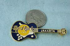 HARD ROCK CAFE LAPEL PIN JAKARTA GUITAR