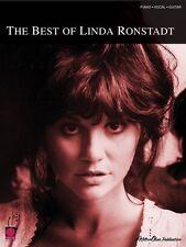 Best of Linda Ronstadt Sheet Music Piano Vocal Guitar SongBook NEW 002500773