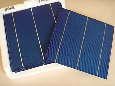 120 pieces 6x6 156mm triple busbar poly solar cells panel Cellule solaire