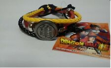 Japan Anime Dragon Ball Z DBZ PU Leather Bracelet Turtle mark Black Yellow New