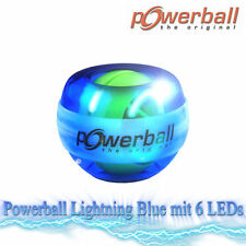 Hand TRAINER nucleo Power ORIGINALE Powerball LIGHTNING BLUE 6 LED | armtrainer OVP