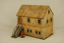 Dark Age NORMAN STONE MANOR HOUSE laser cut  MDF 28mm scale Building J007