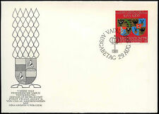 Liechtenstein 1968 Silver Wedding FDC First Day Cover #C16561