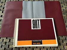 1968 PORSCHE 911T OWNERS MANUAL (NEVER CIRCULATED/STORED FOR DECADES NOS ORGINAL