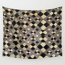 WALL TAPESTRY 51x60 ~ EXCLUSIVE AFRICAN KUBA CLOTH DESIGN #3