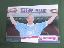 STAN COLLYMORE - ASTON VILLA - 1  PAGE PICTURE- CLIPPING /CUTTING