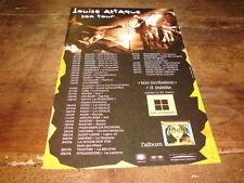 LOUISE ATTAQUE PUBLICITE TON INVITATION - DATES TOURNEE