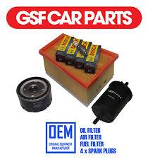 Service Kit Oil Air & Fuel Filters & Sump Plug Renault Kangoo Express 1.6 16V