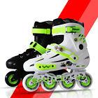 Cool Boys Girls Adult Roller Blades Inline Skates Adjustable Size Professional