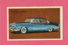 Dodge Vintage 1950s Car Collector Card from Sweden