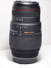 Sigma APO DG 70-300mm MACRO ZOOM Wildlife LENS FOR SONY A77 A700 A580 A55 A58