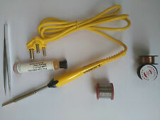 6 In 1 Branded SOLDRON Professional Quality 25 Watt Soldering Iron 230 Volt Kit