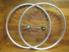 FRM FL-M PRO 29ER DISC SHIMANO HUBS TITANIUM TIE DYED SPOKE CLINCHER WHEEL SET