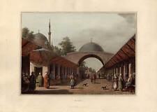 Burgas-Bulgarien-BULGARIA-Borgas - Aquatinta Bowyer-Luigi Mayer 1810