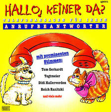 "Phone announcements for Anrufbeantworter ""HELLO,KEINER DA?"" CD 60 Tracks NIP"