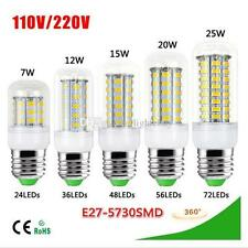25W LED Corn Light Bulb 72 leds COOL WHITE