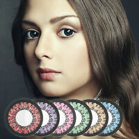 SWEET 2tone Farbige Kontaktlinsen Color Contacts Circle Coloured contact lenses