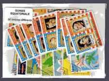 Guinée Equatoriale - Equatorial Guinea 50 timbres différents