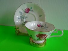 Royal Albert Bone China Pink Rose Tea Cup and Saucer MINT Ship Fast w Tracking #