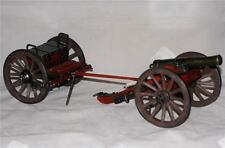 CONFEDERATE ARMY CSA Model Replica Display CIVIL WAR CANNON with LIMBER New
