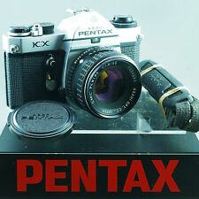 Pentax KX EXCELLENT Pentax K 55mm 1.8 **SERVICED** z48