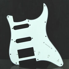 White Tortoise Guitar Pickguard For Fender Strat Stratocaster High Quality New