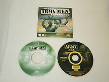 ARMY MEN : THE FULL EXPERIENCE full game + promo in slipcover case for pc