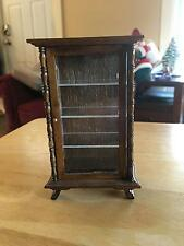 Vintage Dollhouse Upright Curio Cabinet Display China